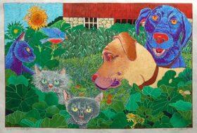 In My Garden (15 x 15)
