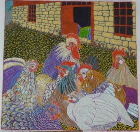 Where the Chickens Live (20 x 20)