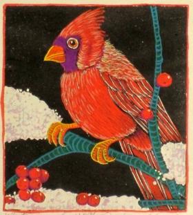 Winter Jewel (4 x 4-1/2)