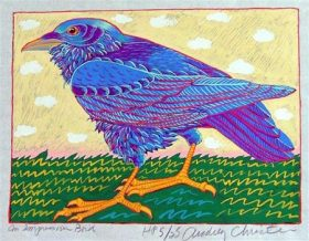Impressive Bird (9 1/2 x 7)