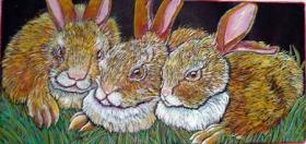 June Bunnies (6 x 12)